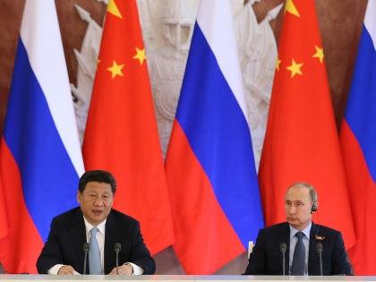 Си Цзиньпин и Владимир Путин // Global Look Press