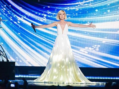 Полина Гагарина на «Евровидении»-2015 // Global Look Press