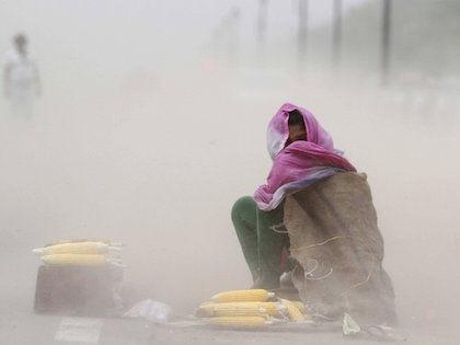 По данным метеорологов, температура не перестанет расти в ближайшие дни //  Global Look