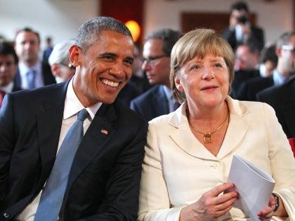 Обама и Меркель // Global Look Press