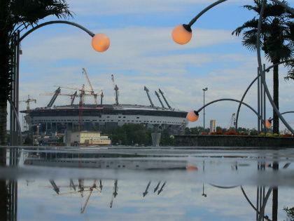 Стадион «Зенит-Арена» в Санкт-Петербурге // Global Look Press
