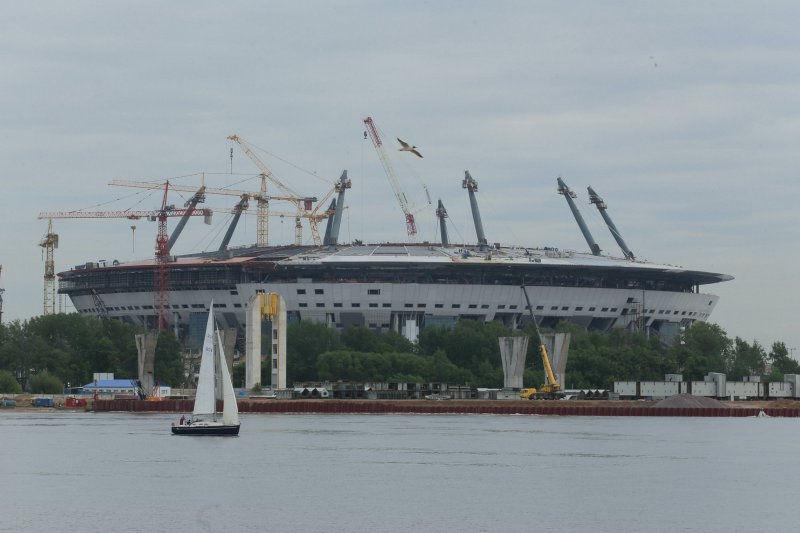 Стадион «Зенит-Арена» // Global Look Press
