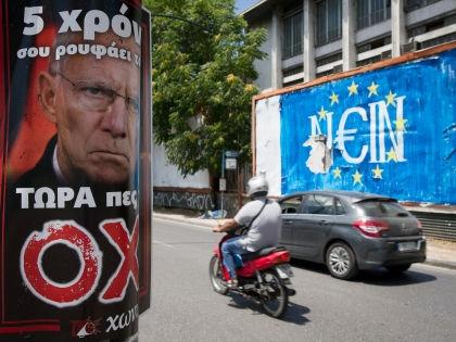 Референдум в Греции //