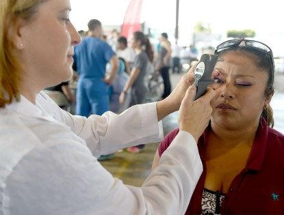 Болезнь Паркинсона можно заранее разглядеть в глазах пациента // Global Look Press