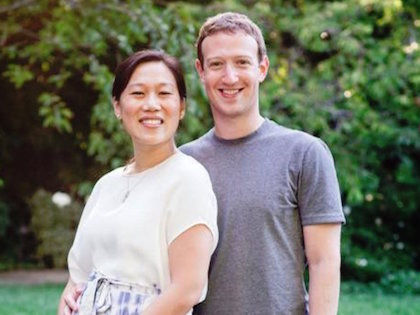 Марк Цукерберг с супругой //  Global Look