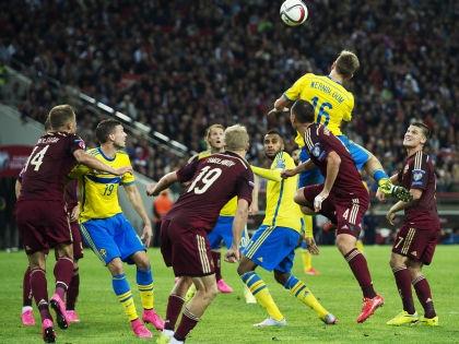 Сборная РФ обыграла Швецию со счетом 1:0 // Global Look Press