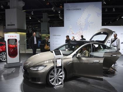 Электромобиль Tesla // Global Look Press