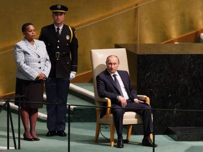 Владимир Путин в ООН // Global Look Press