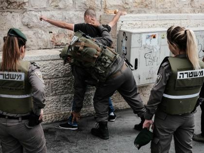 Службы безопасности и полиция Восточного Иерусалима проводят рейд // Global Look Press