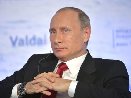 Президент России Владимир Путин на пресс-конференции //  Global Look Press