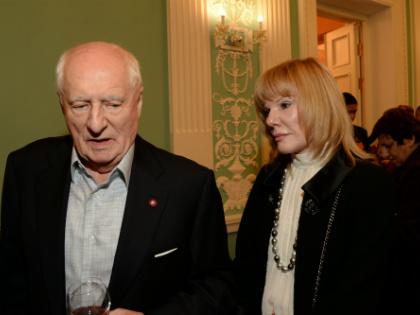 Марк Захаров с дочерью Александрой // Global Look Press