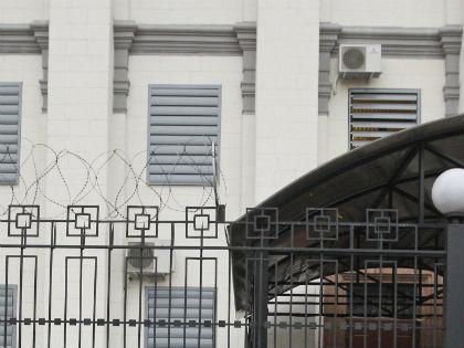 Здание посольства РФ в Киеве // Global Look Press