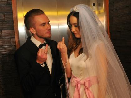 Свадьба певицы Виктории Дайнеко и музыканта Дмитрия Клеймана // Global Look Press