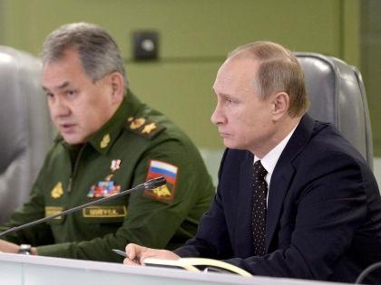 Сергей Шойгу и Владимир Путин // Алексей Никольский / Global Look Press