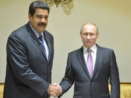 Президент Венесуэлы Николас Мадуро и российский лидер Владимир Путин // Global Look Press