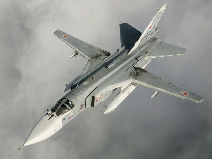 Министерство обороны РФ опровергло факт нарушения воздушных границ Турции Су-24 (на фото), потерпевшим крушение // Russian Look