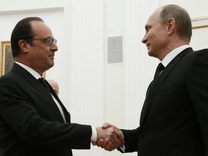 Владимир Путин отменил встречу с Франсуа Олландом // Александр Землянченко/Global Look Press