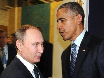 Владимир Путин и Барак Обама // Arnaud Bouissou / Global Look Press