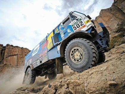 Фаворит гонки грузовиков «Дакар» – «КАМАЗ-Мастер» – может пропустить несколько ближайших сезонов // Global Look Press