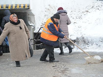 Из-за мокрого снега и ветра в Москве будет сильный гололед // Global Look Press