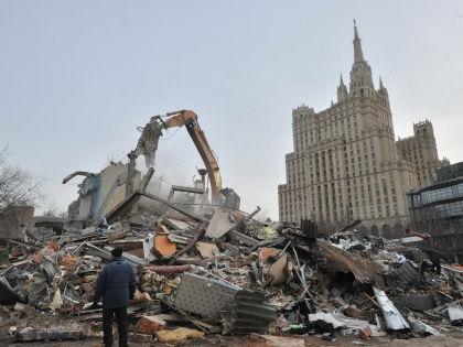 Снос «самостроя» в Москве // Global Look Press