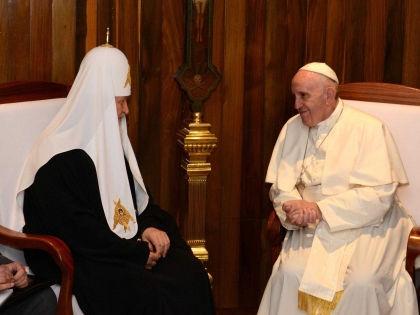 Встреча Патриарха Кирилла и Папы Римского // Global Look Press