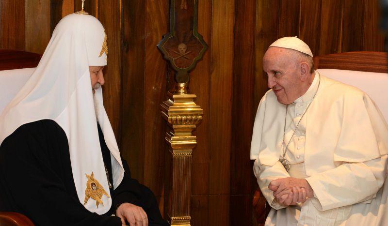 Историческая встреча патриарха Кирилла и папы Франциска // E]Str/Global Look Press