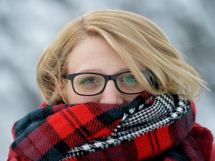 Некоторые вынуждены зимовать с аллергией на холод, зачастую даже не подозревая, в чем причина их неудобств // Global Look Press