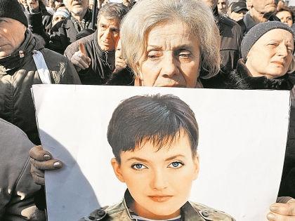 Суд признал Надежду Савченко виновной в гибели российских журналистов // Global Look Press