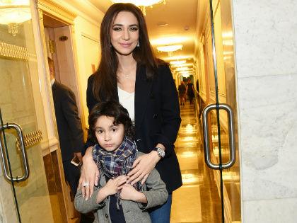 Зара с сыном // Global Look Press