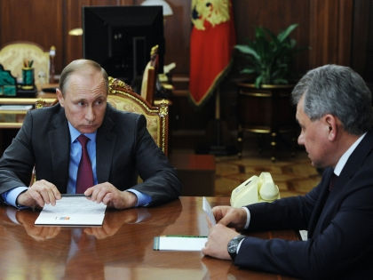Владимир Путин и Сергей Шойгу // Michael Klimentyev / Global Look Press