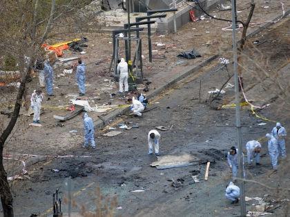 Теракт в Анкаре унес жизни 37 человек // Global Look Press