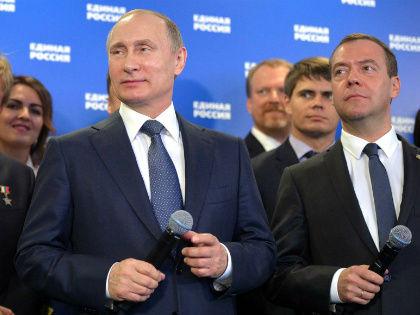 Появились сообщения, что Путин хочет радикального обновления фракции «Единой России» в Госдуме // Global Look Press