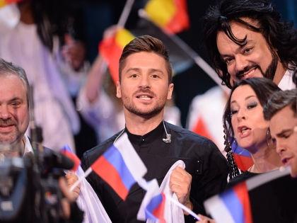 Сергей Лазарев во время подсчета результатов Евровидения-2016 // Global Look Press
