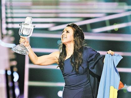 Джамала – победительница Евровидения-2016 // Global Look Press