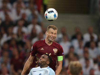 Василий Березуцкий стал героем матча, сравняв счет на последних минутах // Zhang Fan / Global Look Press