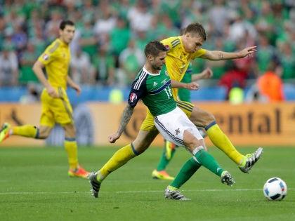 Проиграв Северной Ирландии (0:2), украинцы первыми на Евро-2016 лишились шансов на выход в плей-офф // Global Look Press