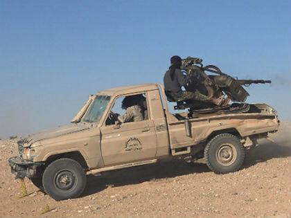 Террористы ИГ во время боя с правительственными войсками Сирии // Global Look Press