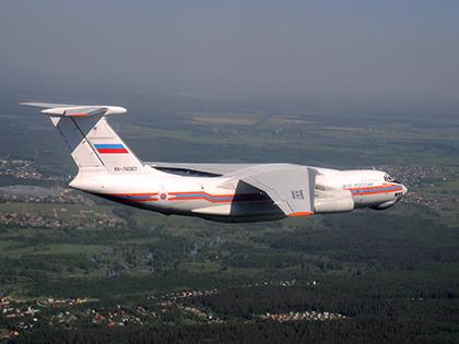 Самолет Ил-76 пропал в Иркутской области // Михаил Грибовский / Global Look Press