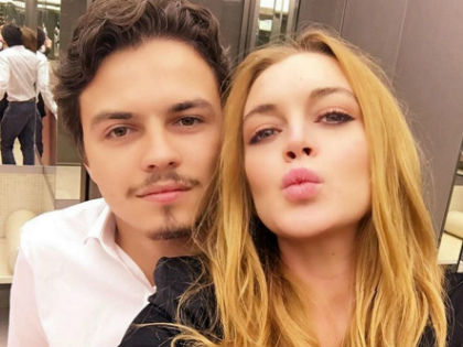 Линдсей Лохан и ее 22-летний русский бойфренд Егор Тарабасов // Global Look Press