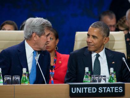 Джон Керри и Барак Обама // Global Look Press
