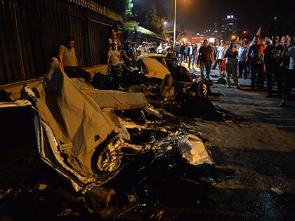 Турецкие мятежники пытались устроить переворот в ночь на 16 июля // Global Look Press