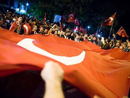 Мятежники пытаются совершить переворот в Турции // Global Look Press