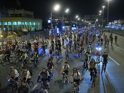 В ночь на 9 июля в Москве пройдет велопарад // Global Look Press