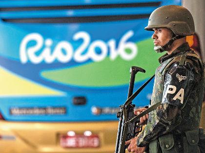 Полицейских в Рио больше, чем спортсменов // Русский взгляд