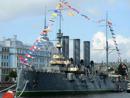 Крейсер «Аврора» после ремонта // Global Look Press