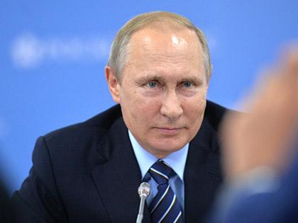 """Владимир Путин видит своего приемника """"молодым, но зрелым"""" // Global Look Press"""