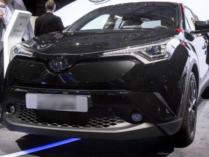 Toyota C-HR // Global Look Press