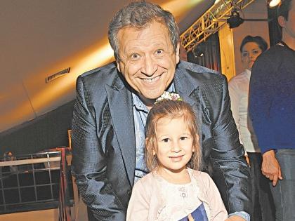 Борис Грачевский с дочерью // Global Look Press