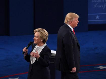 Хиллари Клинтон в ходе теледебатов со своим оппонентом Дональдом Трампом назвала ситуацию в Сирии «катастрофической» // Global Look Press